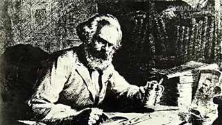 克尔白的悬诗:纪念马克思和对革命的检视