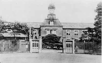 当时的日本东京第一高等学校 图片来源见后