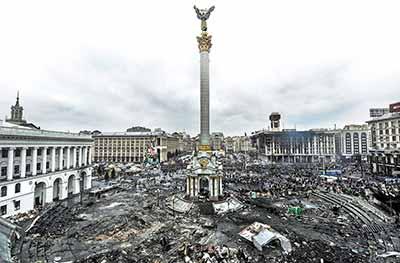 乌克兰颜色革命|美梦成噩梦 拥抱西方遭弃沦全欧最穷国