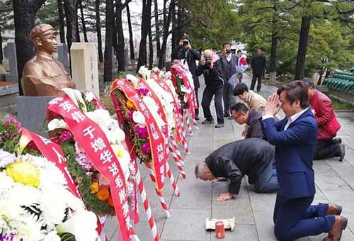 司马南:2017祭扫志愿军烈士墓的讲话
