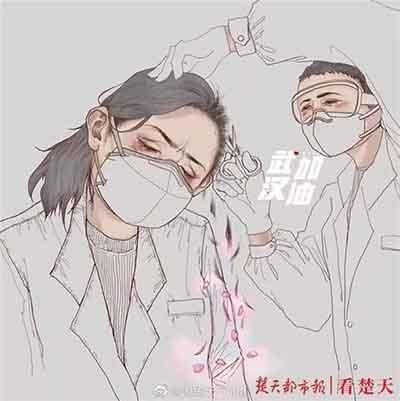 """女医护人员剃光头""""出征"""",我们应该赞美什么,反思什么?"""