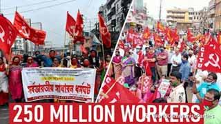 印度:超2.5亿工人和农民参加了全国性罢工