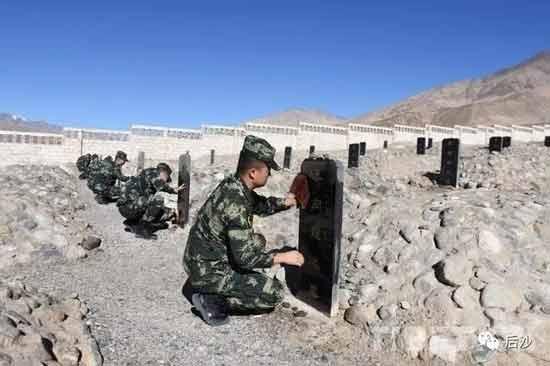 清澈的爱只为中国!英雄屹立喀喇昆仑