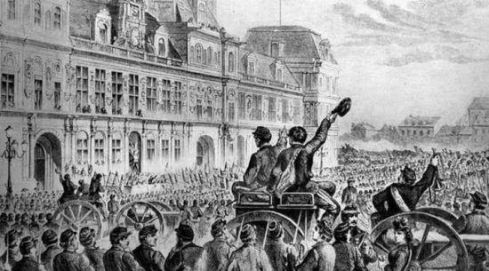 静悄悄的巴黎公社150周年