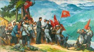 井冈山上的工农红军,为什么没有变成梁山泊里的绿林草寇?